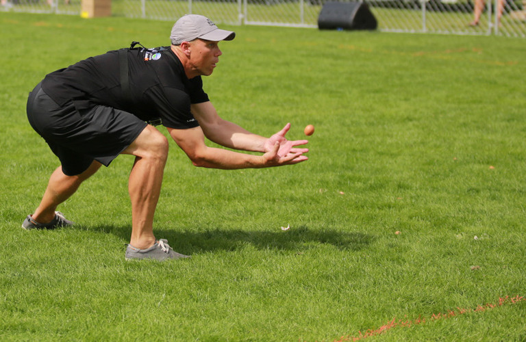 NZ Egg Throwing & Catching Championship