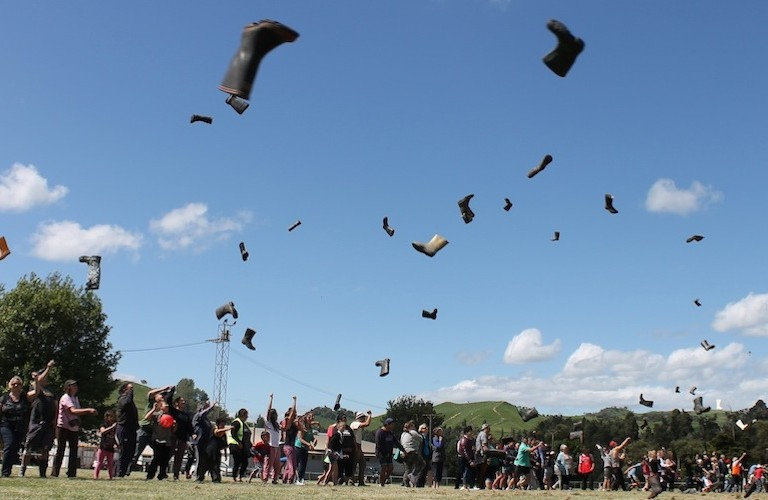 New Zealand Gumboot Throwing Championship
