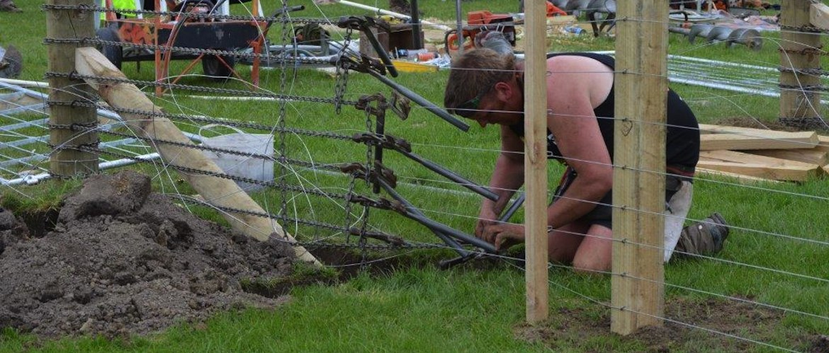speed fencing at NZ Rural Games