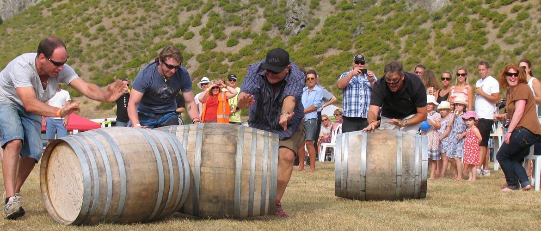 Wine Barrel Racing at Hilux NZ Rural Games