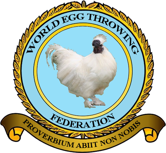 World Egg Throwing Federation logo