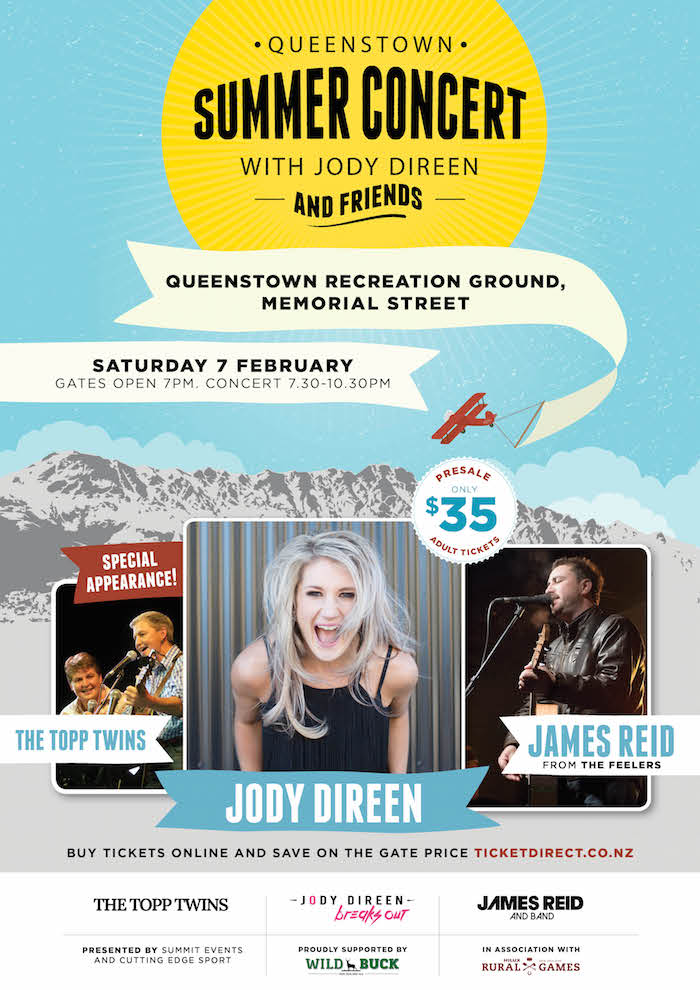 Queenstown Summer Concert poster
