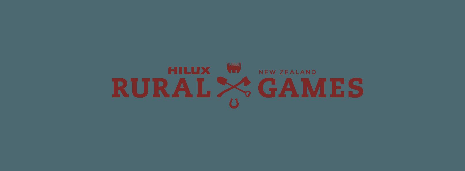 Hilux NZ Rural Games logo