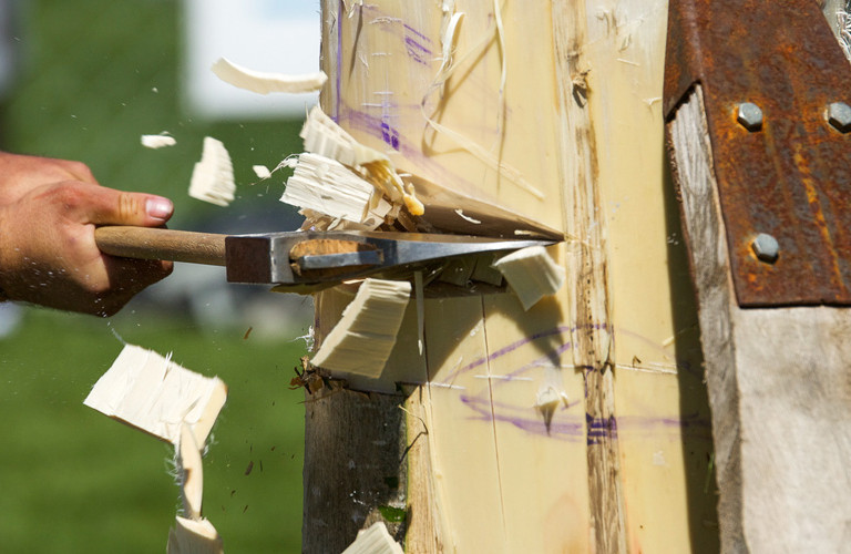 ANZAXE Wood Chopping Championship