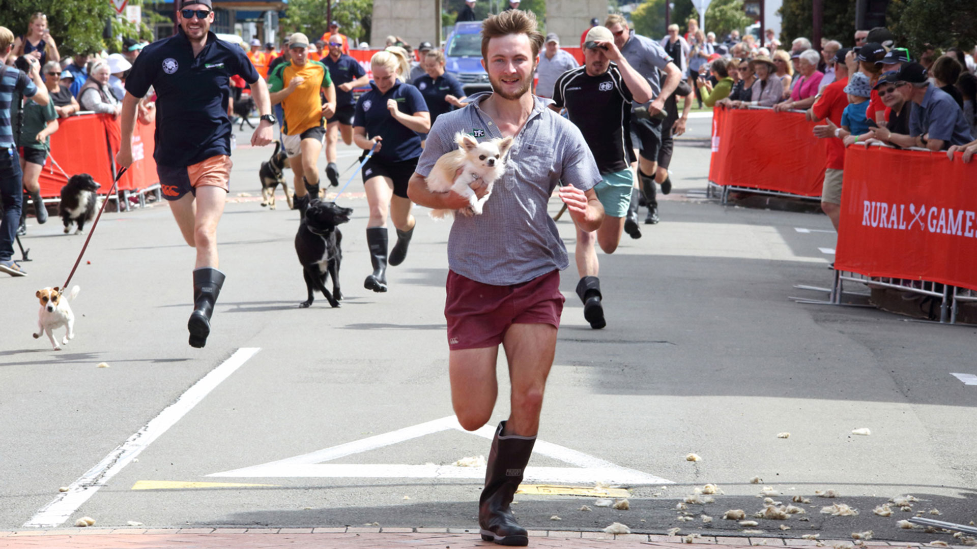 Man vs Mutt Race