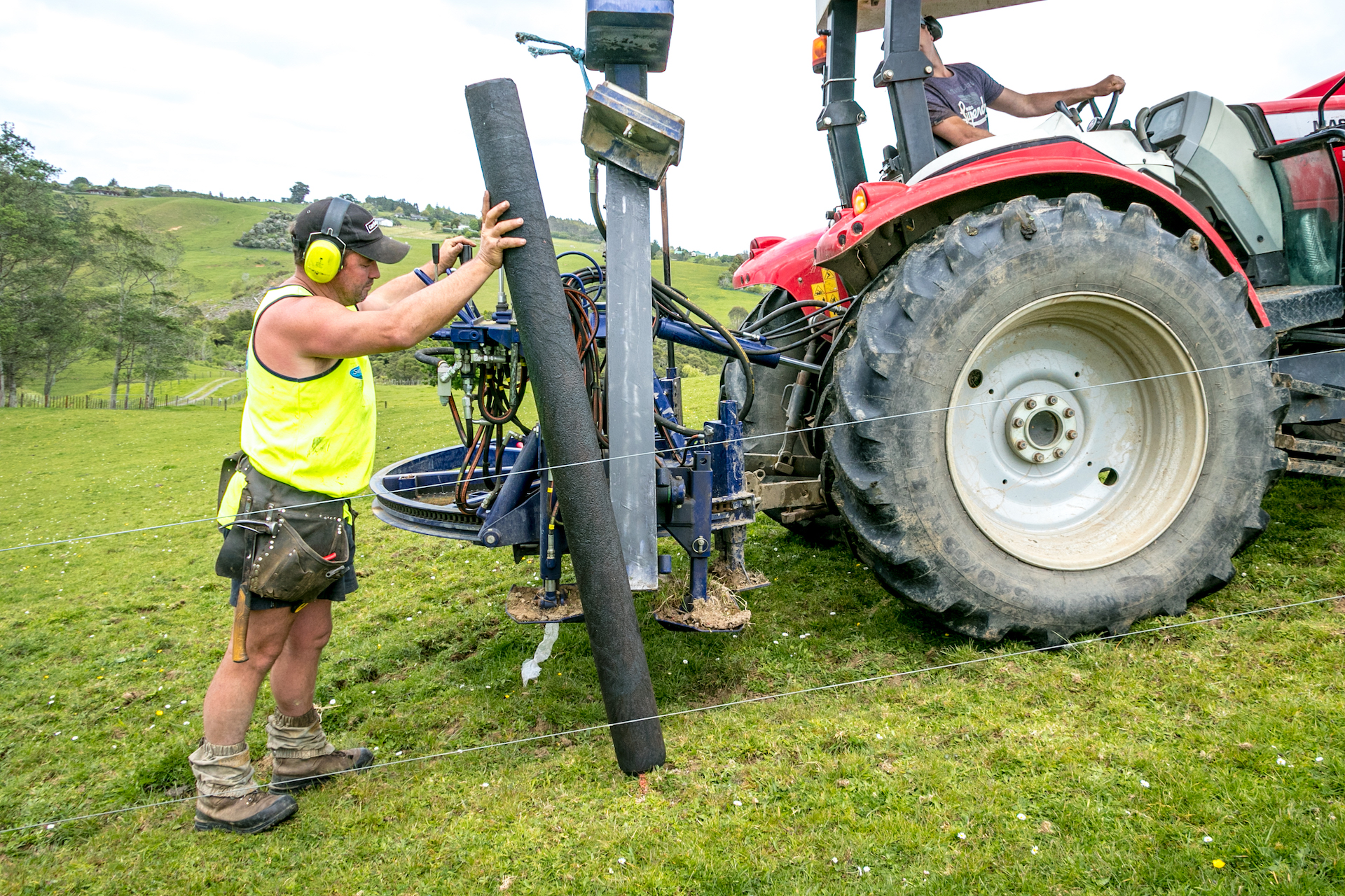 Plastic posts put to the test at New Zealand Rural Games
