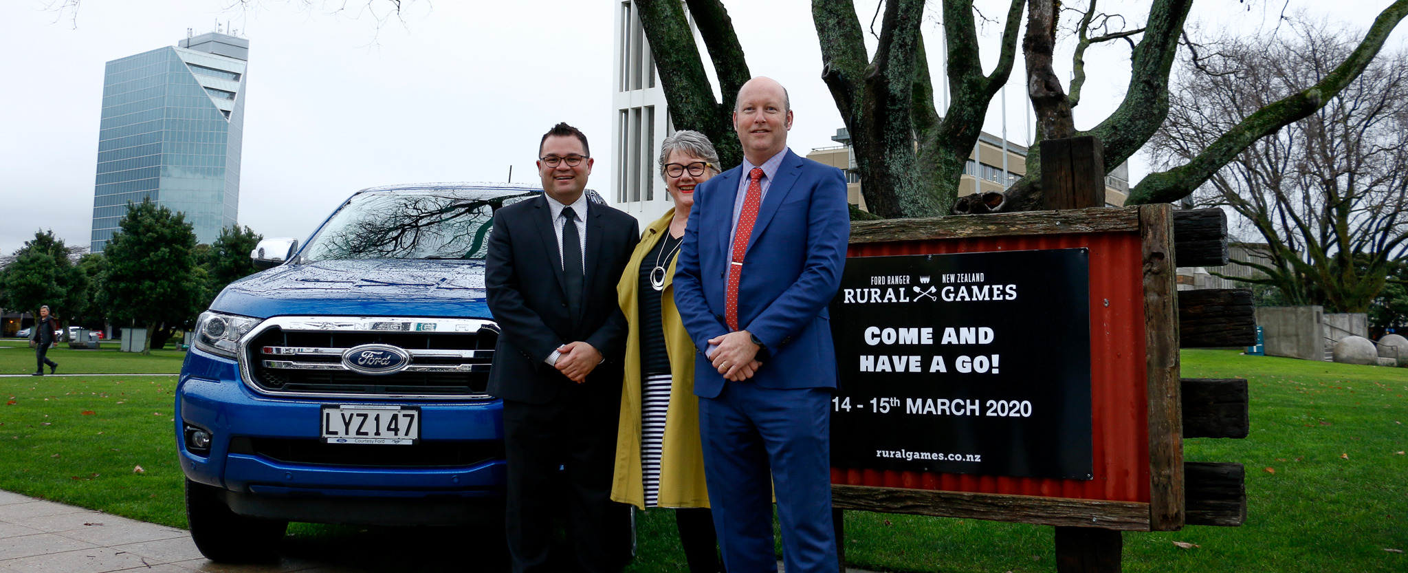 Ford Ranger unveiled as naming rights sponsor of the New Zealand Rural Games