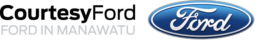Courtesy Ford Manawatu Logo