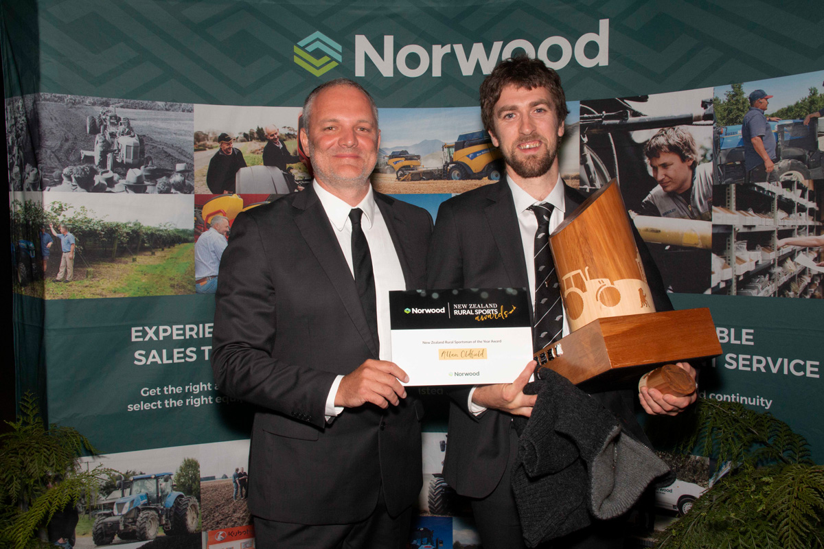 Norwood's Tim Morduant and Allan Oldfield