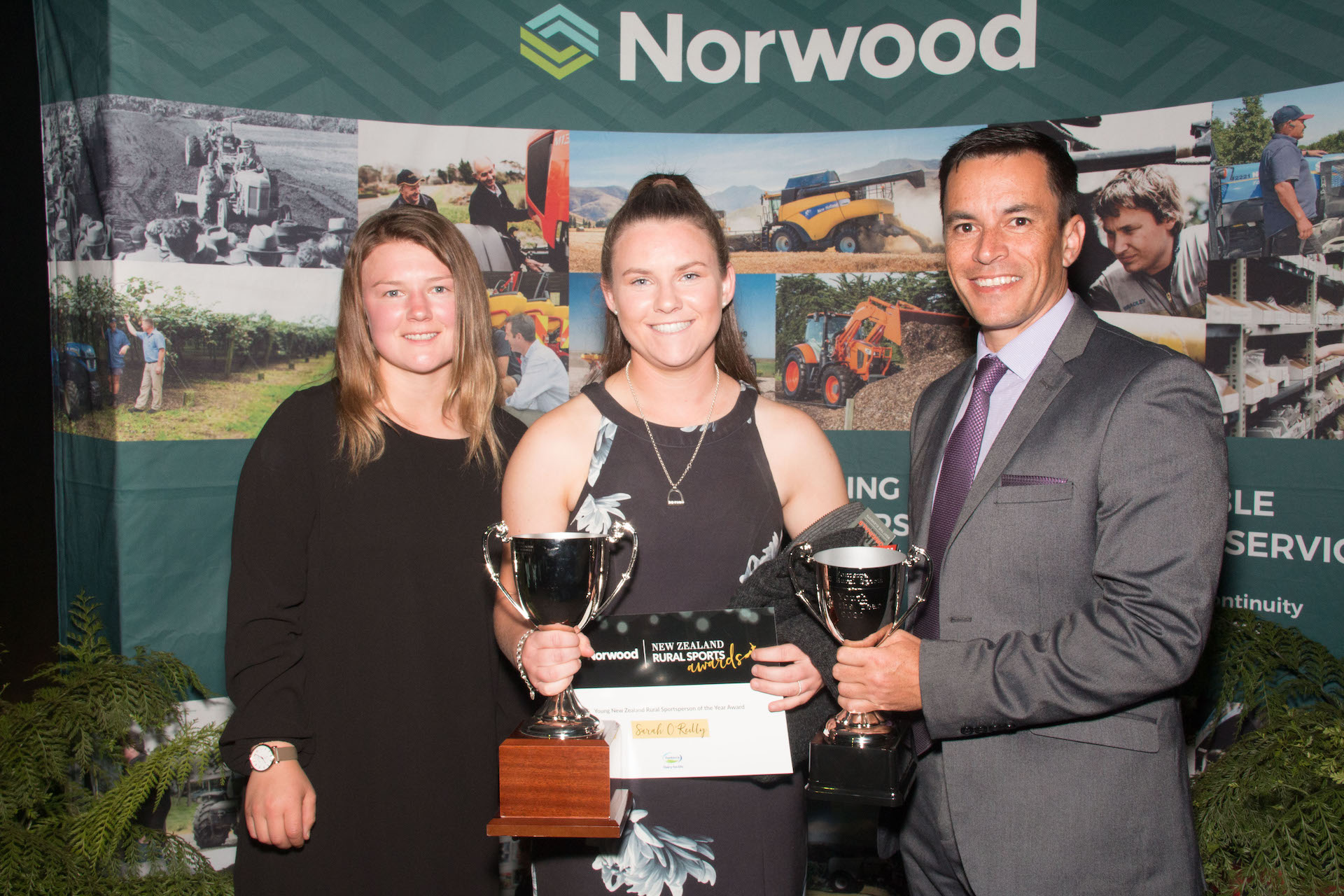 Sarah O'Reilly 2020 Fonterra Young New Zealand Rural Sportsperson on the Year