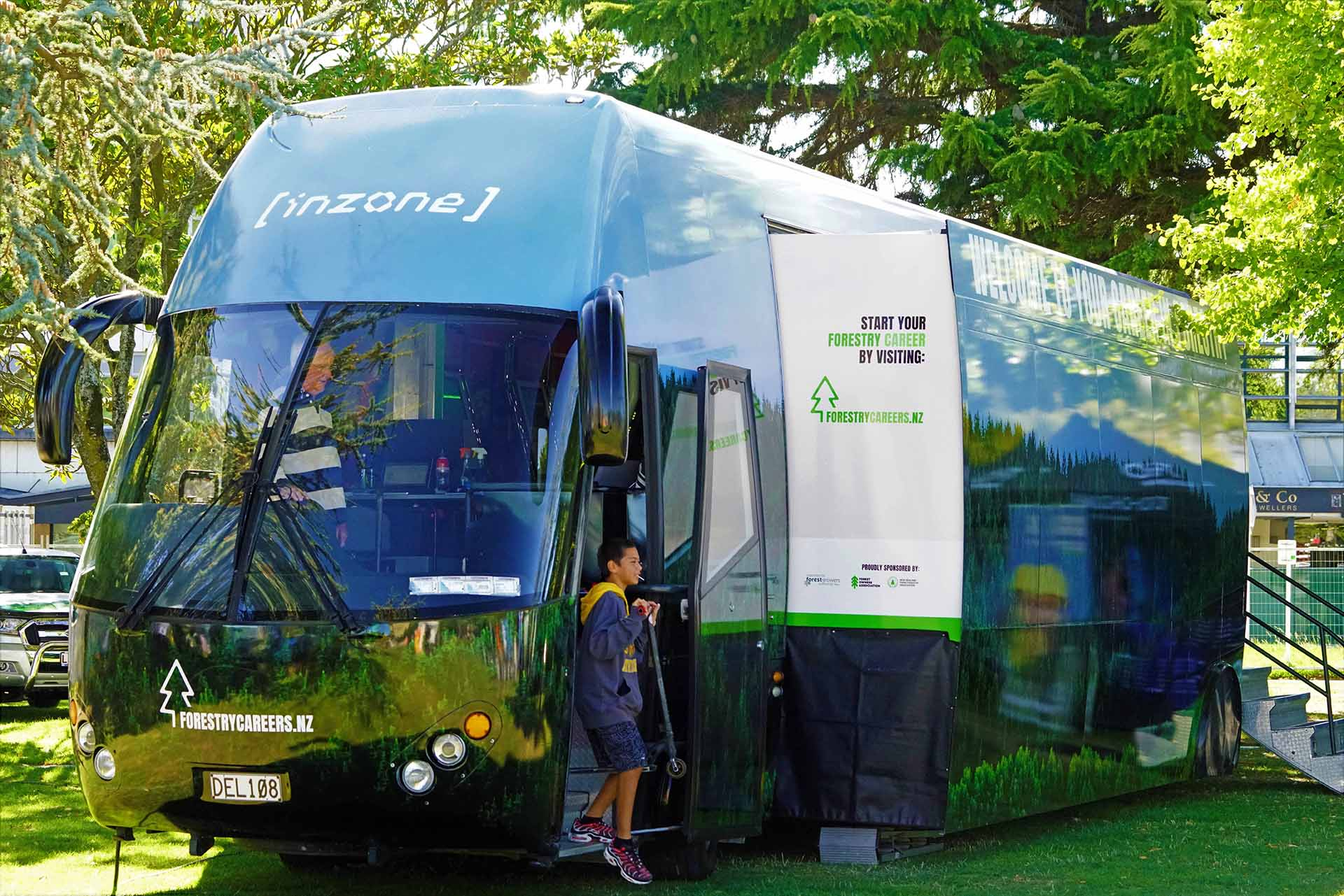 forestry careers bus